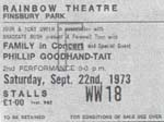 Family, Phillip Goodhand-Tait Ticket