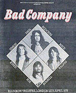 Bad Co press advert