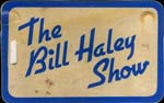 Bill Haley tour luggage tag