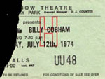 Billy Cobham ticket
