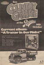 Country Gazette Press Advert