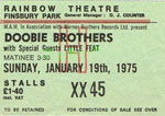 Doobie Bros/Little Feat ticket