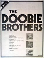 Doobie Brothers Press Advert