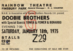 Doobie Bros Ower of Power ticket