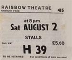 Hitchhikers Guide to the Galaxy ticket