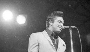 Jackie Wilson on stage