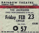 Jacksons ticket