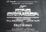 KIng Crimson Press Advert