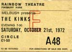 Kinks Ticket