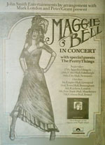 Maggie Bell press advert