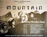 Press advert for Mountain concert Nov 1971