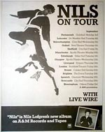 Nils Lofgren Press Advert
