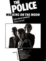 Police tour press advert