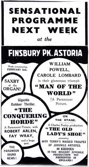 Press advert