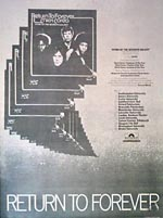 Return to Forever Press Advert