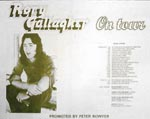 Rory Gallagher Press Advert