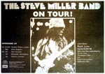 Steve Miller Band press Advert