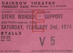 Stevie Wonder ticket