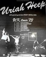 Uriah Heep Press Advert