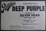 Deep Purple Press Advert