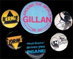 Selection of Gillan badges