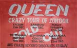 "Queen ""Crazy Tour of London"" poster"
