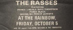 The Rasses press advert