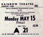 UK ticket