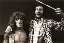 Roger Daltrey & Pete Townsend on stage